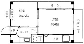 奇数部屋間取 ×320