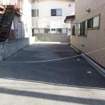 裏手 駐車スペース